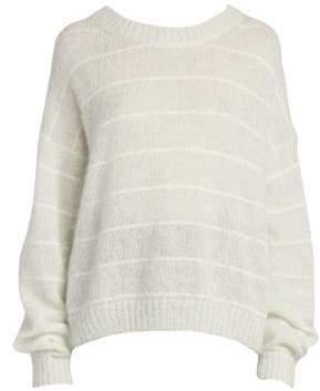 Acne Studios Kassidy Stripe Knit Sweater
