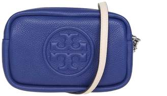 Tory Burch Shoulder Strap Perry Bombe Mini In Bluette Color Leather