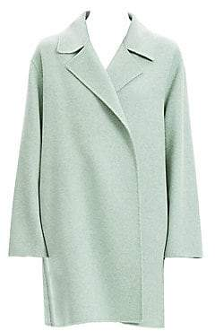 Theory Women's Double Faced Virgin Wool Cashmere Coat