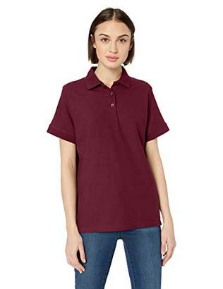 UltraClubs Women's ULTC-8560L-Basic Blended Piqué Polo
