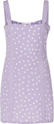 Solid & Striped Mini polka dot dress Size: S