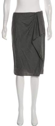 Ralph Lauren Black Label Knee-Length Ponti Skirt