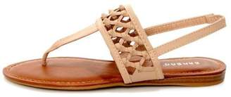 Bamboo Knotted Thong Sandals $21.50 thestylecure.com