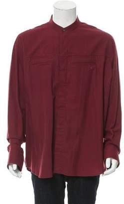 Haider Ackermann Long Sleeve Button-Up Shirt