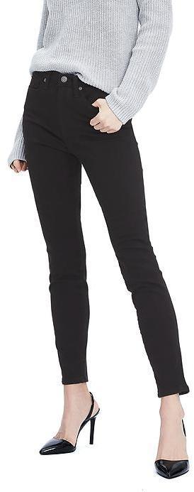 Zero Gravity Black High-Rise Skinny Jean