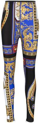 Versace The Lovers print leggings