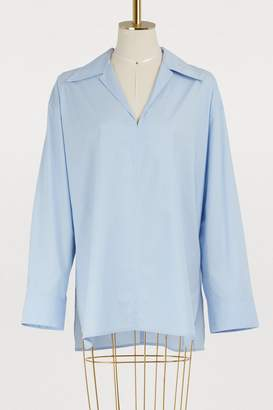 Acne Studios Cotton poplin tunic