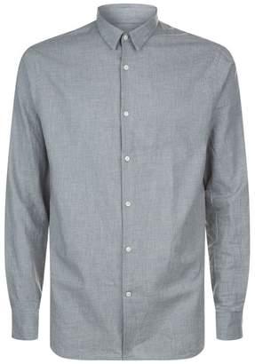 J. Lindeberg Daniel Melange Cotton Shirt
