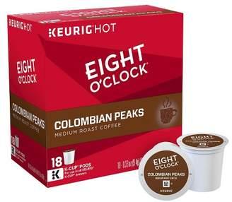 Keurig Eight O'Clock Colombian Peaks Medium Roast Coffee K-Cup Pods - 18ct