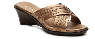 Italian Shoemakers Softy Wedge Sandal - Women's