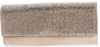 Judith Leiber Embellished Satin Clutch $245 thestylecure.com