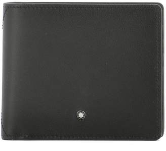 Montblanc Grey Leather Wallet