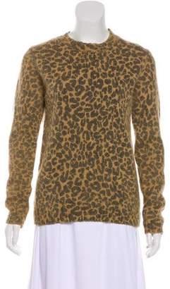 Each X Other Alpaca Leopard Print Sweater