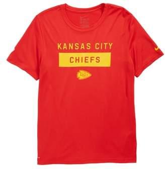 Nike NFL Kansas City Chiefs Dry Legend Lift T-Shirt