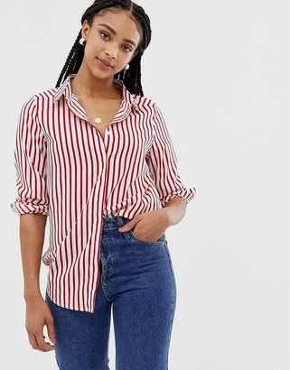 Brave Soul pattie stripe shirt
