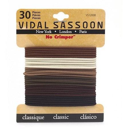 Vidal Sassoon No Crimper Braided Elastics