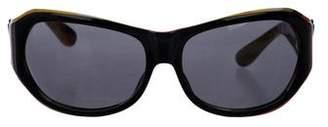Missoni Striped Tinted Sunglasses