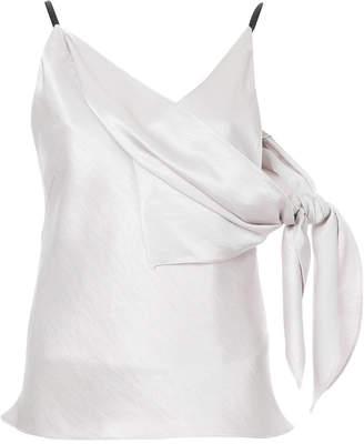 CHRISTOPHER ESBER asymmetric V-neck blouse