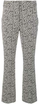 Schumacher Dorothee printed cropped trousers