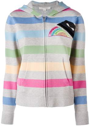Marc Jacobs striped hooded cardigan