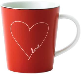 ED Ellen Degeneres by Royal Doulton ED Signature Heart Porcelain Mug