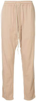 Bassike loose fit track trousers