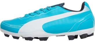 ee10078770a Puma Junior evoSPEED 5.2 Tricks FG Football Boots Beetroot Purple Bluebird  White