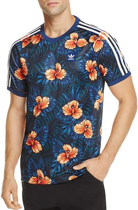 adidas Originals Floral Print Jersey Pullover $45 thestylecure.com