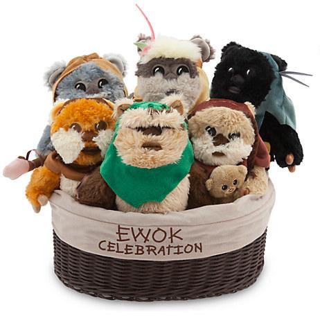 DisneyEwok Celebration Limited Edition Plush Set - Star Wars - Small - 9''