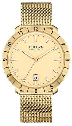 Bulova Men's Moonview HP Quartz Watch $575 thestylecure.com