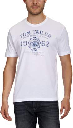 La Redoute Tom Tailor Mens T-Shirt with Printed Motif On The Front Size L