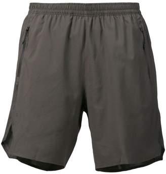 adidas logo track shorts