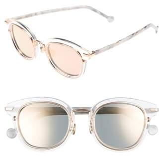 Christian Dior Origins 1 53mm Round Sunglasses