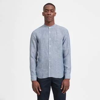Everlane The Linen Band Collar Shirt