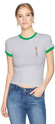 Obey Junior's Flames Ringer Tshirt
