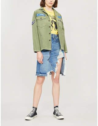 Polo Ralph Lauren Paint military cotton jacket
