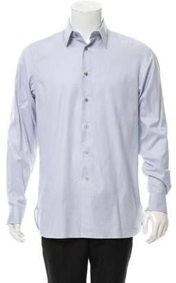Calvin Klein Collection Slim Fit Button-Up Shirt