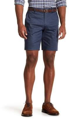Perry Ellis Regular Fit Sateen Hatch Print Shorts