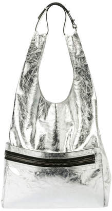 Tom Ford Metallic Paper Leather City Tote Bag