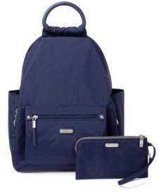 Baggallini Classic All Day Backpack with RFID Phone Wristlet