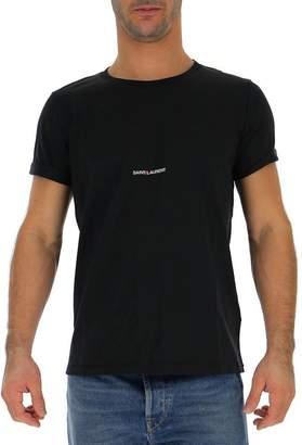 Saint Laurent Logo Detail T-Shirt