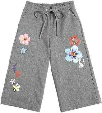 Simonetta Printed Cotton Pants