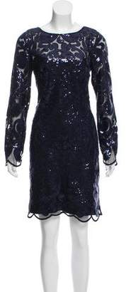 Laundry by Shelli Segal Sequin Knee-Length Dress w/ Tags