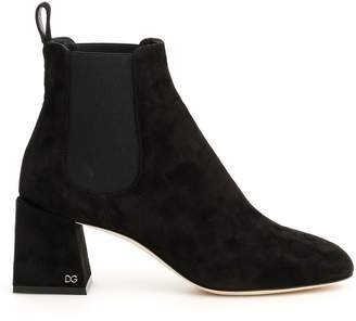 Dolce & Gabbana Suede Vally Boots