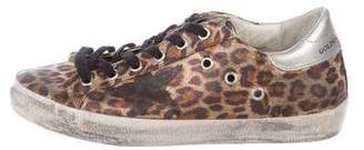 Golden Goose Canvas Low-Top Sneakers
