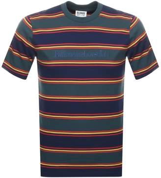 Billionaire Boys Club Striped T Shirt Green