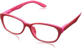 Peepers Good Morning, Charlie Oval Reading Glasses,Red,+2