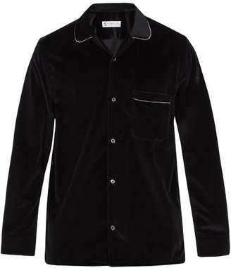 Cobra S.c. - Cabriolet Cotton Velvet Shirt - Mens - Black