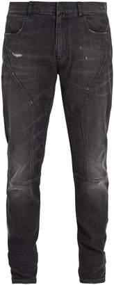 Faith Connexion Distressed mid-rise slim-leg jeans