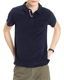 Tommy Hilfiger Towelling Slim Polo